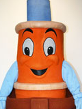 Scuffy the Tugboat Mascot Costume