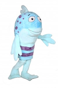 Pout Pout Fish Custom Mascot Promotional Costume