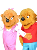 Berenstain Kids Mascot Costume