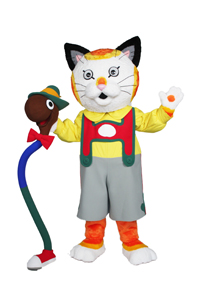 Huckle Cat and Lowly Worm