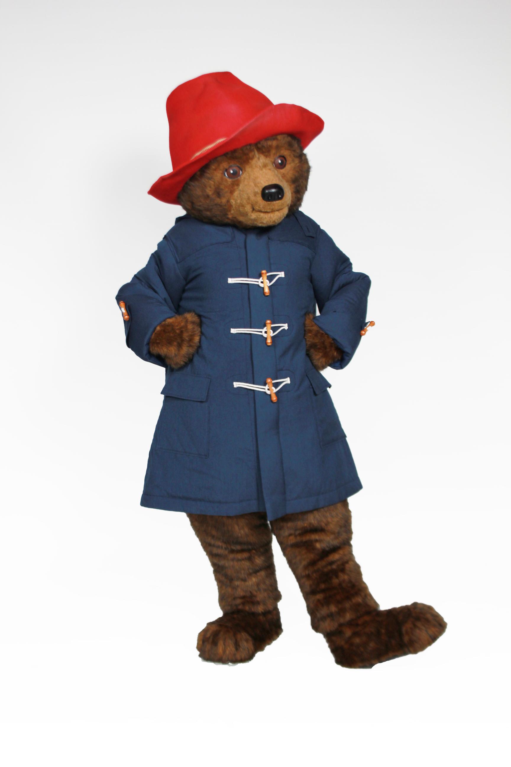 Paddington Bear Character Rental Custom Mascots