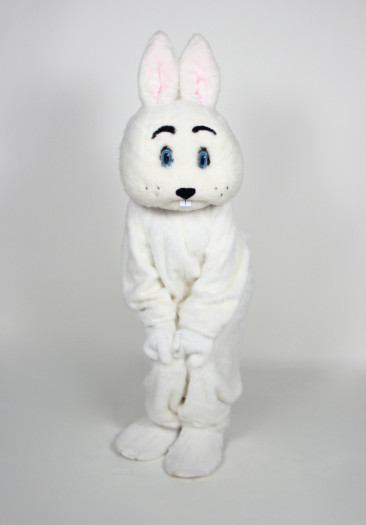 Big white bunny costume for rent.