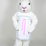 Easter Bunny Mascot Costume Rental