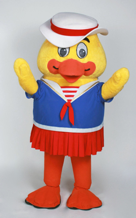 Rent this Rubber Duck Mascot for your Costume Event
