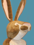 Little Nutbrown Hare Mascot Costume