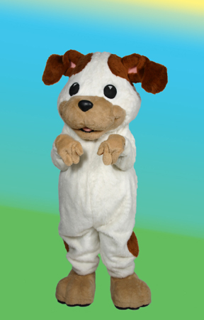Poky Little Puppy Promotional Custom Mascot Costume Available as Rental
