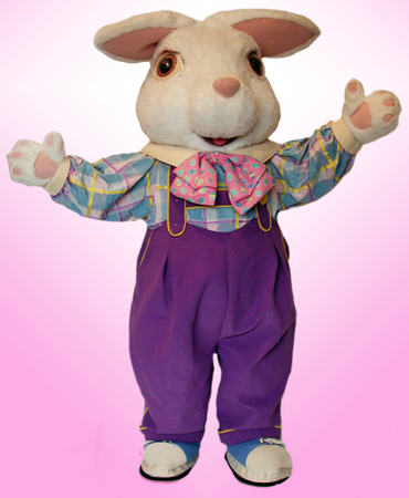 Easter Bunny Rental Mascot Costume