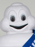 Michelin Man Mascot Costume