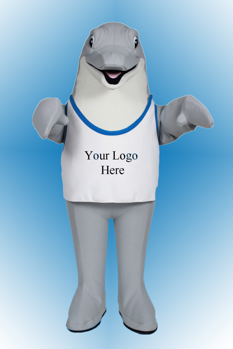 Rent this Fun Dolphin Mascot for your Costume Event & Dolphin Mascot Costume | Custom Mascots | Costume Specialists
