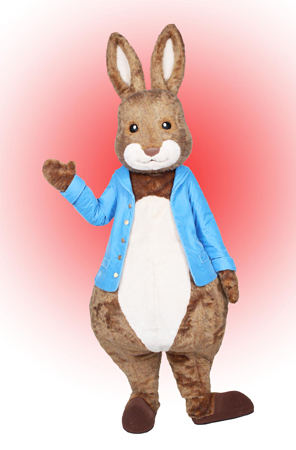 Peter Rabbit Custom Mascot and Promotional Character Costume
