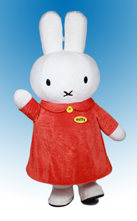 Miffy Mascot Costume