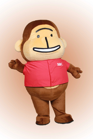 Monsuke Custom Mascot Costume