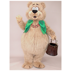 Berry Bear Mascot Costume