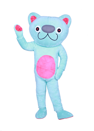 Bip the Cat Custom Mascot Costume