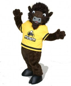 Buffalo Wild Wings Mascot Costume
