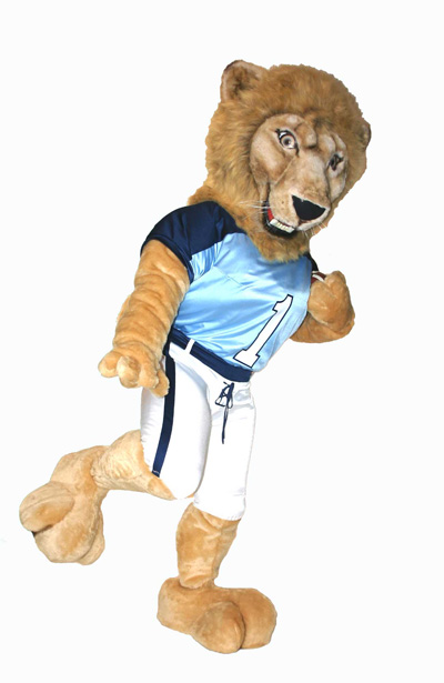 Columbia Lion Roar-EE Mascot Costume