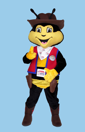 Free Bee (WFRE) Mascot Costume