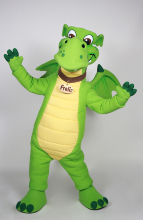 Frolic Dragon Custom Mascot Costume