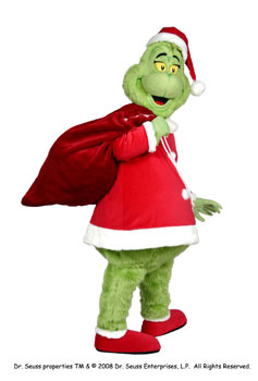 Grinch Mascot Costume