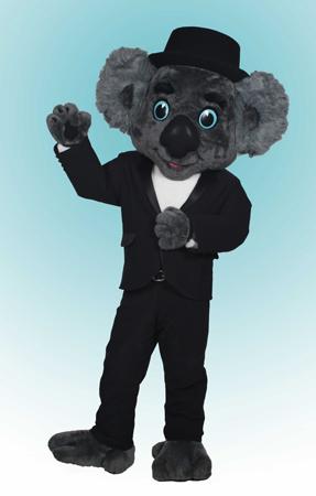 Koala Ken Koala Roofing Custom Mascot Costume