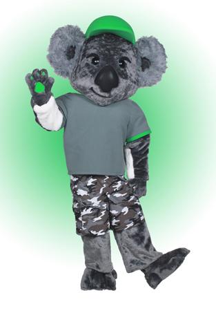 Koala Joe Mascot Costume