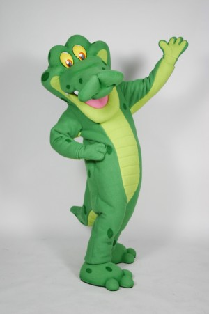 Nutripals Alligator Mascot Costume