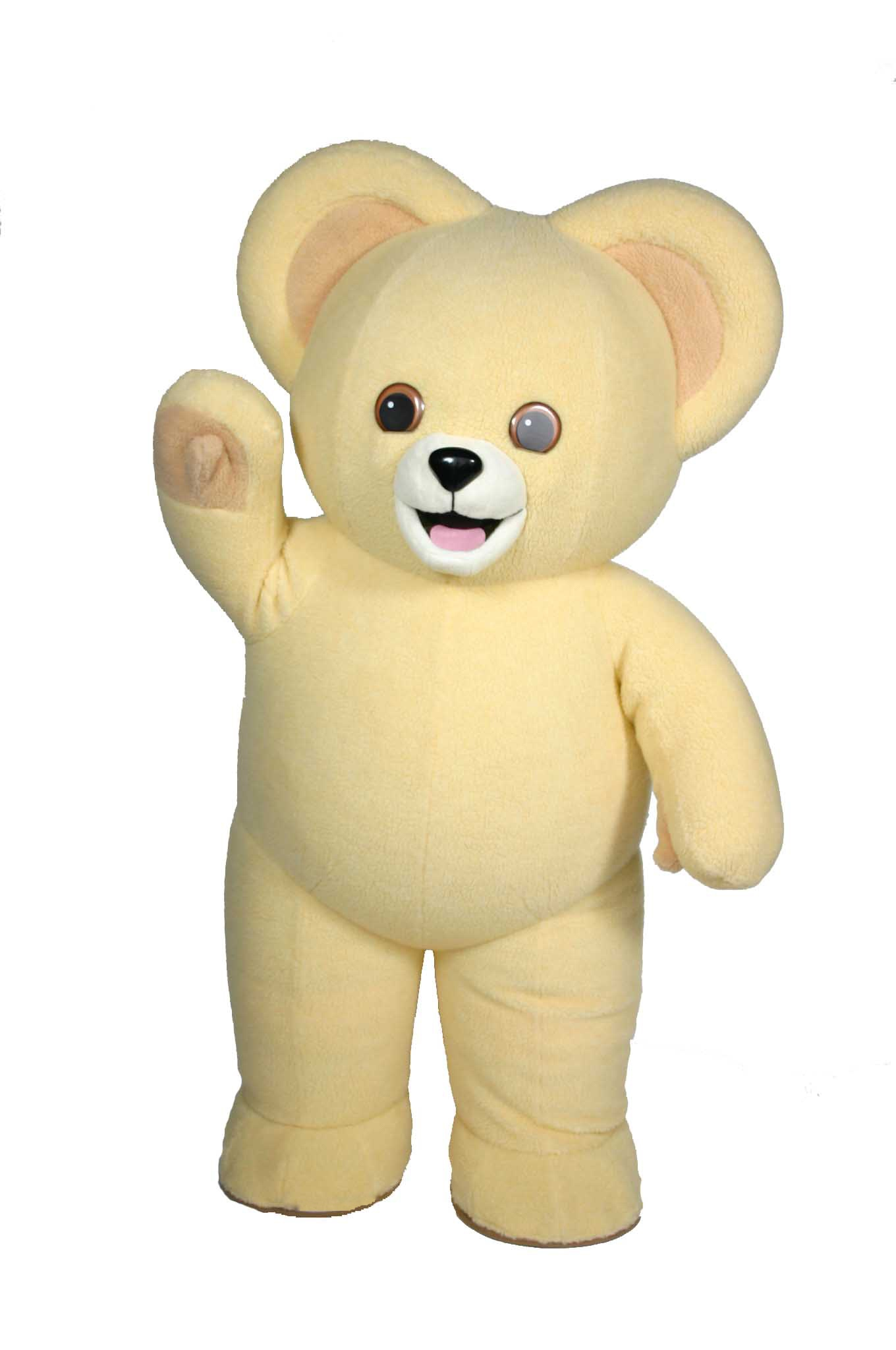 Snuggle Bear Mascot Costume