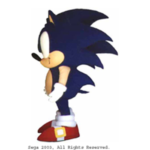 Sonic Sega Corporation Custom Mascot Costume