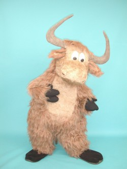 Detroit Yak Custom Mascot Costume