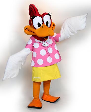 Zuzy Custom Mascot Costume