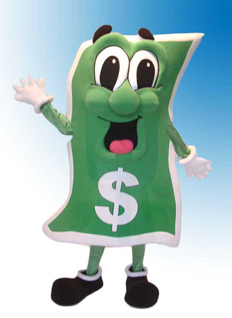 Billy Buck Mascot Costume