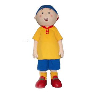 Caillou Mascot Costume