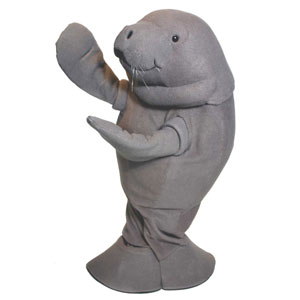 Cincy Zoo Manatee Mascot Costume
