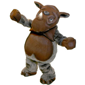 Cincy Zoo Rhino Mascot Costume