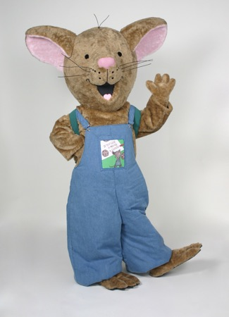 Mouse (If you give…) Mascot Costume