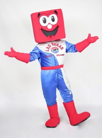 Pit Boss Las Vegas Mascot Costume