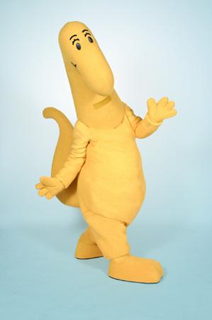 Danny's Dinosaur Mascot Costume