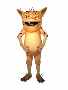 Digger Mascot Costume