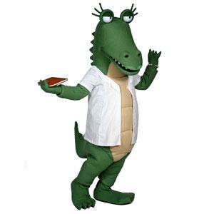 Dr. Ali Gator Mascot Costume