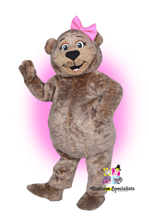 Bear mascot costume rental