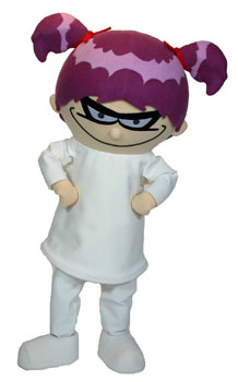 Franny K. Stein Mascot Costume