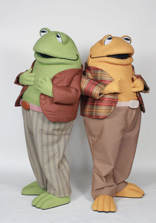 Frog & Toad Custom Mascot Costumes by Costume Specialists