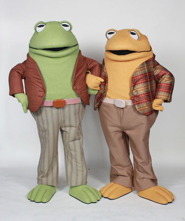 Frog & Toad Custom Mascot Costume by Costume Specialists