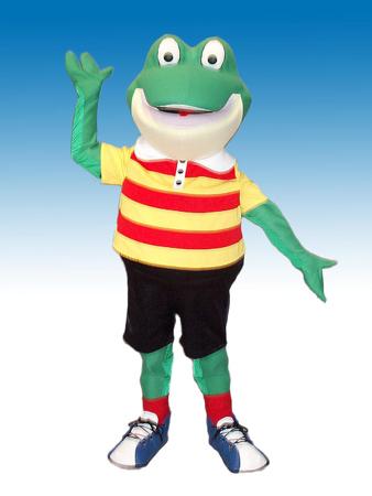 Froggy Mascot Costume