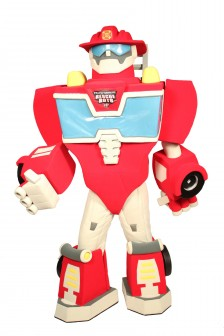 Transformers Heatwave Mascot Costume