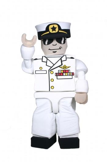 KreO Captain Lego Mascot Costume
