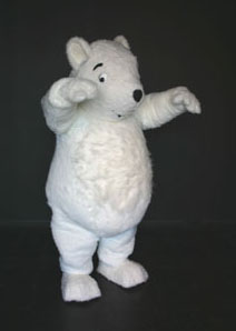 Lars the Little Polar Bear Mascot Costume