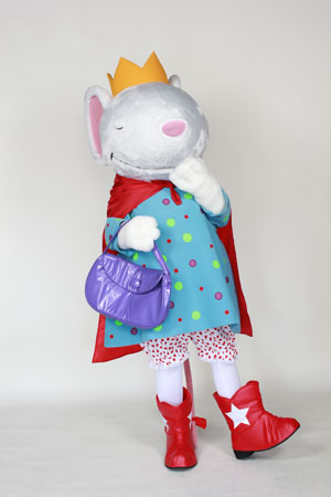 Lilly Mouse Custom Mascot Costumes by Costume Specialists