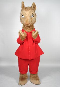 Llama Llama Mascot Costume
