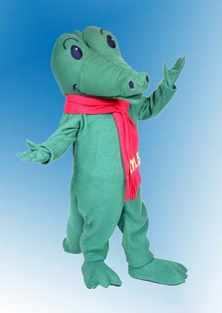 Lyle Lyle Crocodile Mascot Costume